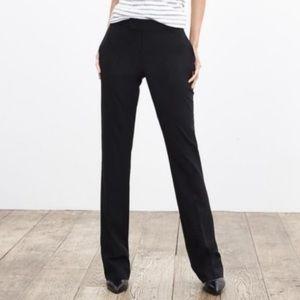 BANANA REPUBLIC BLACK MARTIN FIT DRESS PANTS